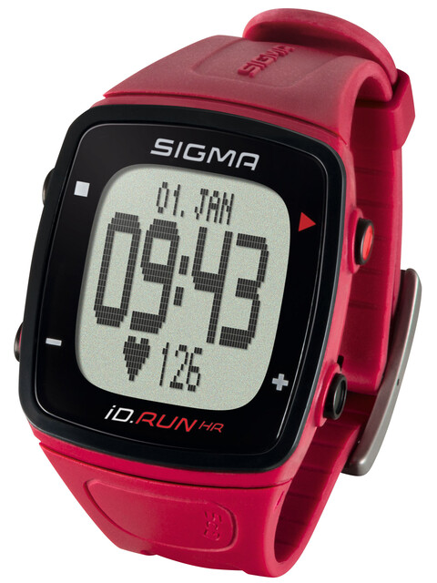 SIGMA SPORT ID.Run HR - rojo